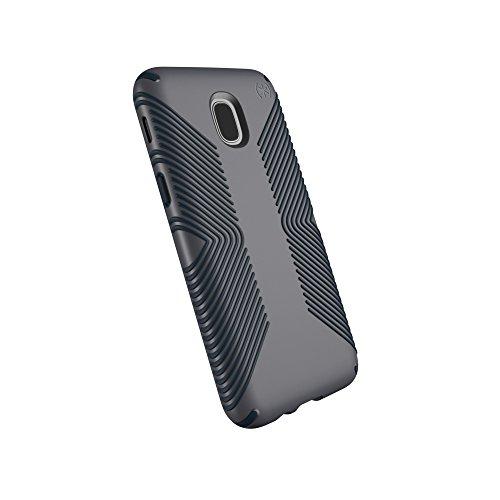 Speck Products Presidio Grip Case, Samsung Galaxy J3Schutzhülle (passend für Verizon J3V 3. Gen, at & T Express Prime 3; Cricket AMP Prime 3, Sol 3; T-Mobile J3Star), grau (Speck Express Galaxy Samsung Case)