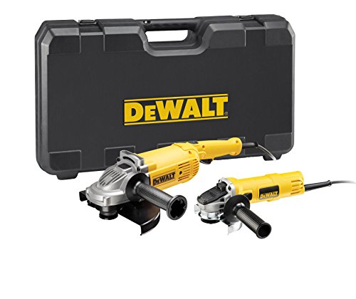 DeWalt dwe49 4twin amoladora de ángulo Twin Set de 2/230/125 mm