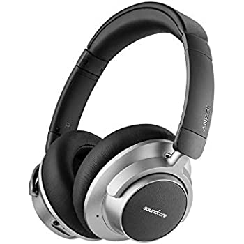 f0742b2cd30 Soundcore Anker Space NC Wireless Noise Cancelling Headphones with Touch  Control, 20-Hour Playtime, Foldable Design for Travel, Work, and Home Soundcore ...