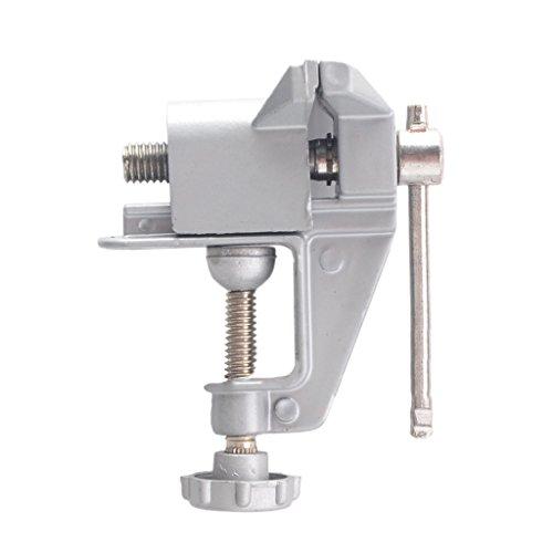 Preisvergleich Produktbild Gazechimp Aluminium Mini Tisch Schraubstock Werkzeug , Miniatur Juweliere Hobby Klemme auf Tisch Bank