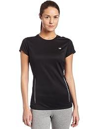 New Balance Short - Camiseta para mujer, color púrpura