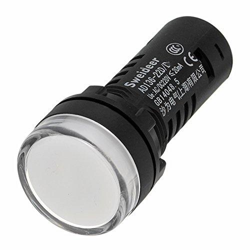 lovinn 22mm Panel Mounted LED Power Indicator Pilot Signal double-color Lampe Licht