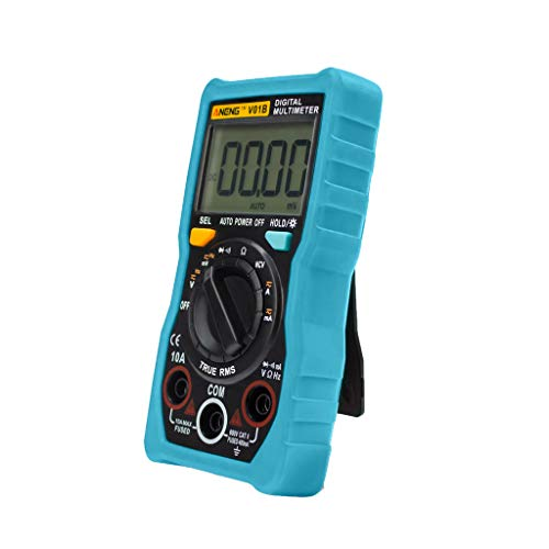 TianranRT Digitalmultimeter-Temperaturbereich Auto True-RMS Intelligenter NCV 4000-Zähler (Blau)