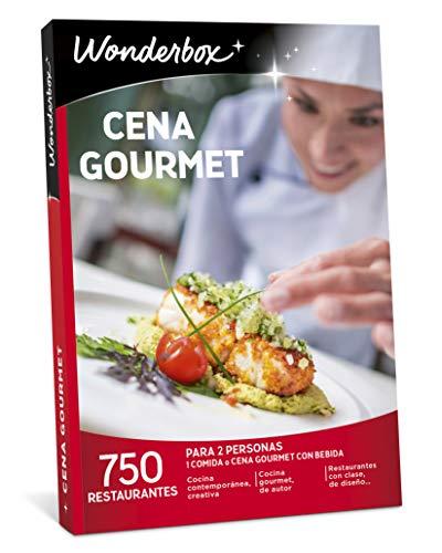 WONDERBOX Caja Regalo para San Valentin -Cena Gourmet- 750 restaurantes únicos para Dos Personas