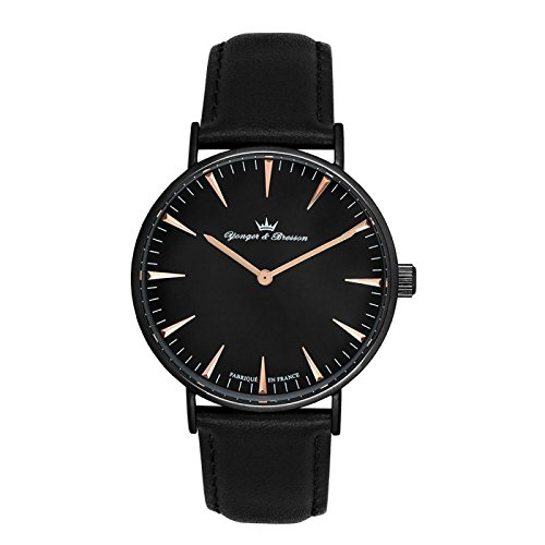 Reloj Yonger & Bresson hombre negro–HCN 075/AA