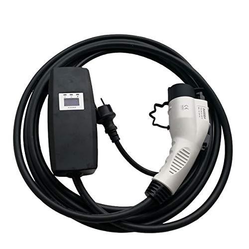Preisvergleich Produktbild ESL E-MOBILITY Typ 1 Ladekabel für Elektroauto (Khons) / Typ 1 auf Schuko / 13A,  1-phasig / Home Charger,  Schnellladekabel,  mobiles Ladekabel