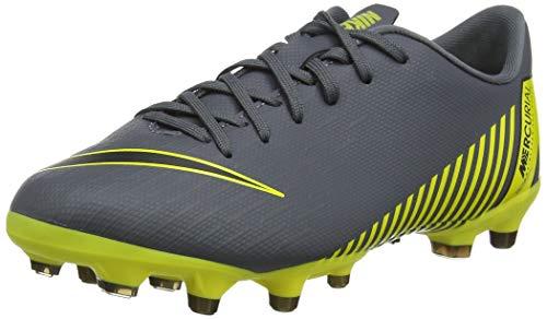 Nike Unisex-Kinder Vapor 12 Academy Gs MG Fußballschuhe, Grau Black-Dark Grey 070, 38 EU