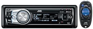 JVC KD-R 901 Autoradio (CD/MP3/WMA-Player, UKW-/MW-Tuner, Bluetooth, iPod-Steuerung, USB 2.0) schwarz