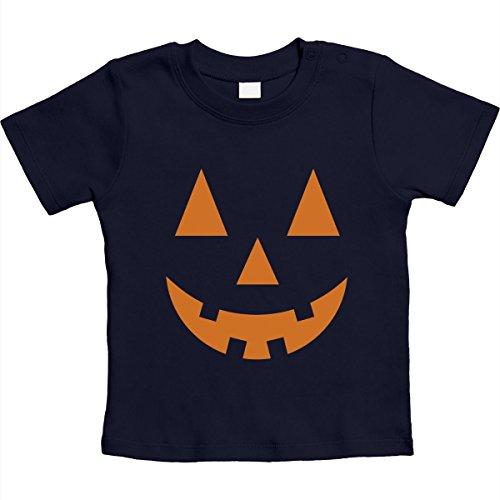 Süsser Halloween Kürbiskopf für die Kleinsten Unisex Baby T-Shirt Gr. 66-93 12-18 Monate / 86 (Kostüm Besten Einfach Am Ideen)