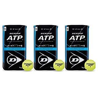 Dunlop ATP Championship Tennisball 6 x 4er Dosen 24 Bälle