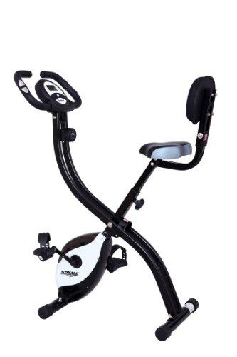 Vélo pliant SV-314 par STRIALE | Freinage magnétique | 8 résistances manuelles | Cardiofréquencemètre