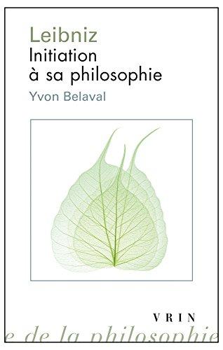 Leibniz : Initiation à sa philosophie