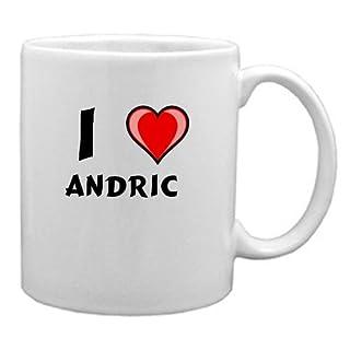 I Love Andric Mug (first name/surname/nickname)