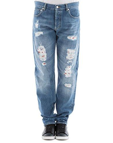 Alexander Mcqueen Jeans (Alexander Mcqueen Herren 505409Qky394001 Hellblau Baumwolle Jeans)