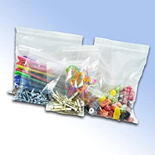 100 Resealable Plastic Grip Seal Bags 9 x 12.75