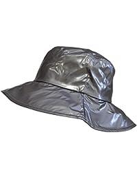 Toutacoo, Chapeau de Pluie, Capeline Femme en Vinyle