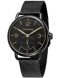 9dd8e1e6dfefeb Forsining uomo lusso Business casual orologio meccanico a carica manuale  Automatic