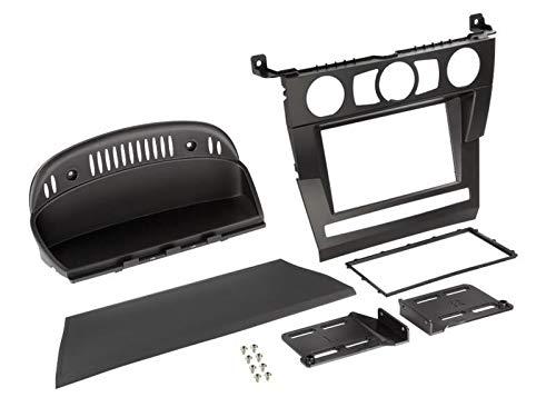 Kit Installation 2Din pour BMW Serie 5 E60 03-07 - Noir - ADNAuto