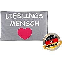 Aminata BALANCE – Wärmekissen Rapssamen inkl. 840 g Füllung á 20x30 cm Baumwolle Lieblingsmensch *Made in Germany... preisvergleich bei billige-tabletten.eu