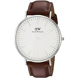 Daniel Wellington Men's Quartz Watch Classic St Andrews 0207DW with Leather Strap