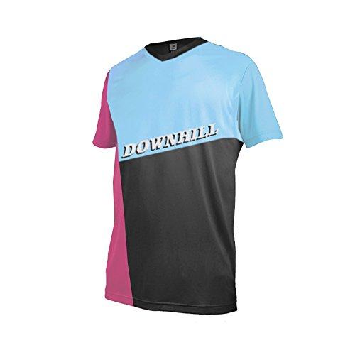 Uglyfrog+ Motocross Shirt Kurzarm Downhill Trikot MX Offroad Motorrad Cross Enduro Racewear Leichtgewicht Atmungsaktives -