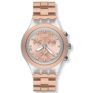 Swatch Full Blooded SVCK4047AG - Reloj unisex, color marrón de Swatch