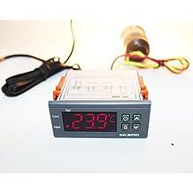Inkbird ITC-1000 12V - Dispositivo para Control de Temperatura con Sensor, Coche y Agua Bomba Termostato