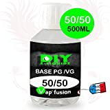 Base pg/vg 50-50 500ml by Vap'fusion - Sans nicotine ni tabac