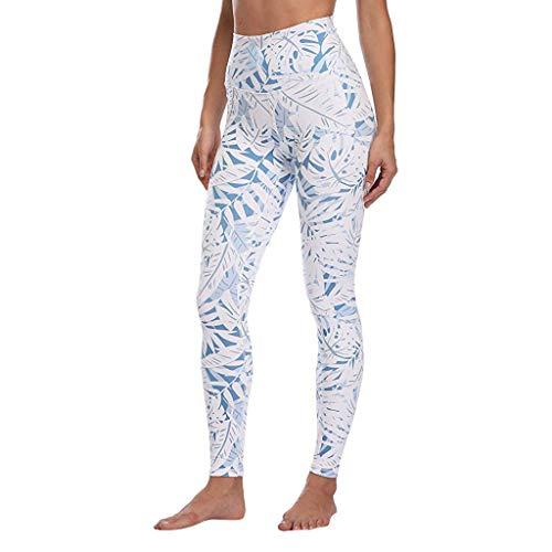 ABsoar Damen Digitaldruck Leggings Frauen Casual Hohe Taille Yogahosen Sommer Beiläufige Gamaschen Dünne Laufen Jogginghosen Sporthosen - Grau Fischgrat-jacke