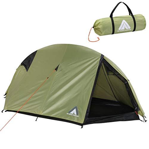10T Zelt Arcas Beechnut 2 Mann Kuppelzelt Trekkingzelt Einbogenzelt Campingzelt wasserdicht 5000mm -