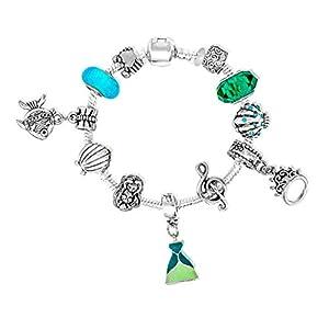 Ariel/Arielle Disney-Prinzessinnen inspirierten Charm Armbänder für Mädchen