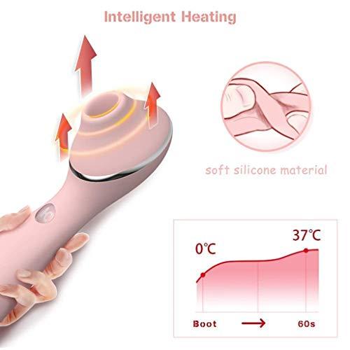 DQFem Handheld Zauberstab Massagegerät, das beste Geschenk für Frauen, Smart Warm Life wasserdichte USB-Lade weibliche Relief Müdigkeit Gesundheit Massage
