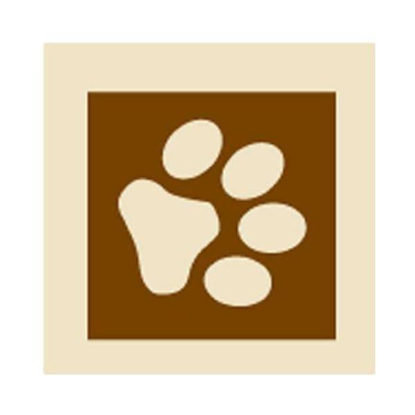 PoochieBells Dog Doorbells, Bone Appetite Brown_desther 2