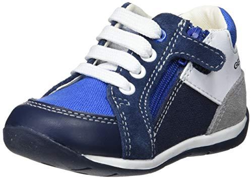 Geox Baby Jungen B Each Boy B Sneaker, Blau (Navy/Royal C4226), 24 EU