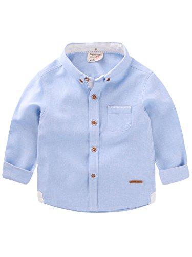 happy-cherry-jungen-kids-casual-hemd-freizeit-herm-shirt-grosse-3-4-fur-korpergrosse-95-100cm-blau