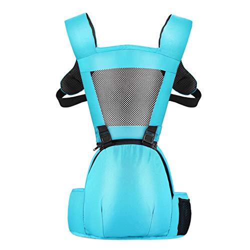 Busirde Baby-Säuglingskindertrage Structured Sling Kleinkind Hip Unterstützung Rucksack Taille Hocker Sitzgurt Gürtel Blue 2# -