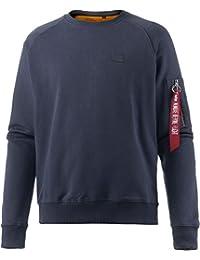 Alpha Industries Sweat-shirt, bleu marine, xl