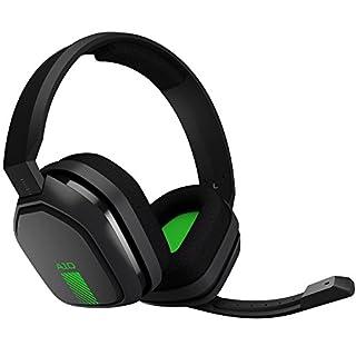 ASTROGamingA10 Headset (kabelgebunden, kompatibel mit XboxOne, PlayStation4, PC, Mac) schwarz/grün