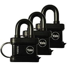 Yale Essentials di alta qualità resistente, 35mm lucchetto Yale serrature per ideale per mantenere la (Assa Alta Sicurezza Serrature)