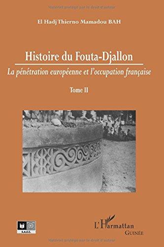 Histoire du Fouta-Djallon (Tome 2) par Thierno Mamadou
