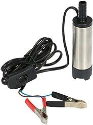 Oil Liquid Diesel Fuel Transfer Pump 12V Water Oil Fluid Refuel Pump