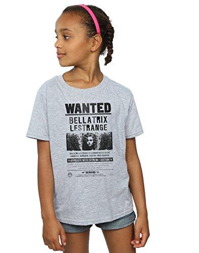 HARRY POTTER Mädchen Bellatrix Lestrange Wanted T-Shirt 12-13 Years Sport - Assistenten Kostüm Kinder