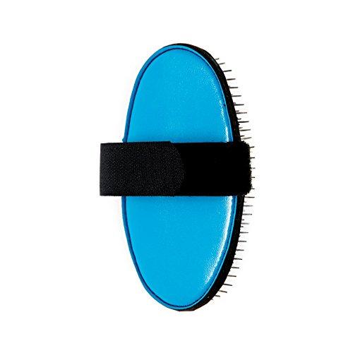 ancol-pet-products-ergo-pam-pin-haustier-burste-einheitsgrosse-blau