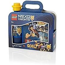 Room Copenhagen RC40591734 -Caja para el almuerzo de Lego Nexo Knights, polipropileno, azul, 45x 35x 25cm