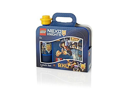 LEGO Lunch Set Nexo Knights, Bright Blue