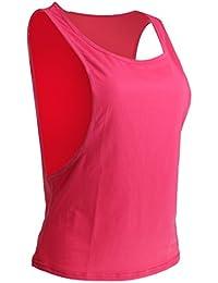 Camisa Deportiva Chaleco Tapa Tanque Camiseta Sin Mangas Entrenamiento De Aptitud T De Deporte Para Mujeres