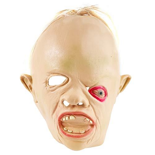 THE TWIDDLERS Neuheit Goony Faultier Latex Maske - Brillant für Halloween saisonale Dekoration Kostümparties - Ideal für Karneval, Verkleiden Etc. (Einfach Spaß Macht Und Halloween-kostüm Ideen)