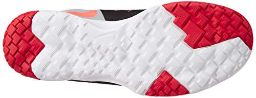 Nike Mens FS Lite Trainer II Black/White/Antracite Training Shoe 10.5 Men US Black/Hot Lava/Wlf Gry/Drng Rd