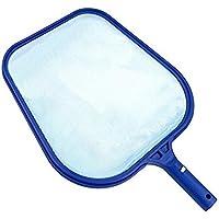 Recogehojas, OYD Recogedor de hojas plano para piscinas, Red azul, fijacion clip