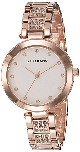 GIORDANO Analog White Dial Women's Watch - A2037-33